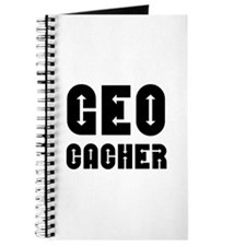 Geocacher Arrows Black Journal