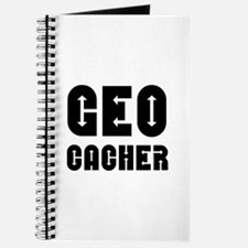 Geocacher Arrows Black Journal