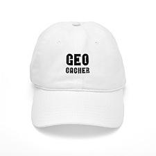Geocacher Arrows Black Baseball Cap