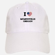 I love McMinnville Oregon Baseball Baseball Cap