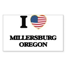 I love Millersburg Oregon Decal
