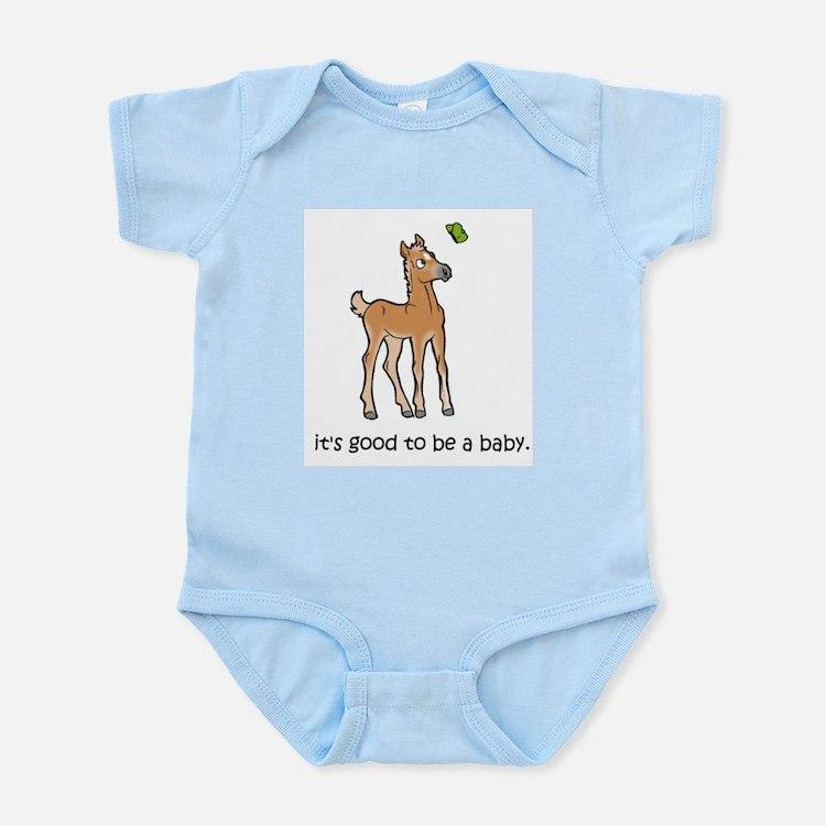 Cute Filly Infant Bodysuit