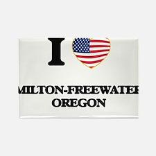 I love Milton-Freewater Oregon Magnets