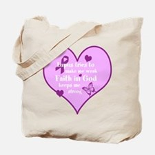 God Strong/Lupus Tote Bag