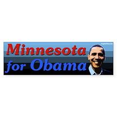 Minnesota for Obama bumper sticker