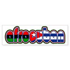 AfroCuban Bumper Bumper Sticker