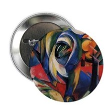 "The Mandrill by Franz Marc 2.25"" Button (10 pack)"