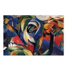 The Mandrill by Franz Marc Postcards (8)