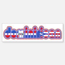 DominiRican Bumper Bumper Bumper Sticker