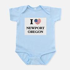 I love Newport Oregon Body Suit