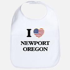 I love Newport Oregon Bib