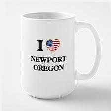I love Newport Oregon Mugs