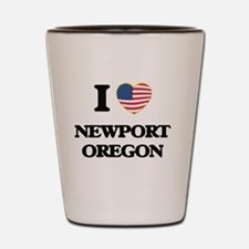 I love Newport Oregon Shot Glass
