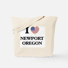I love Newport Oregon Tote Bag
