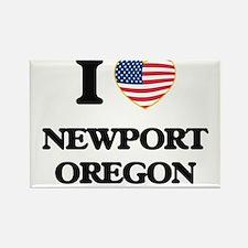 I love Newport Oregon Magnets