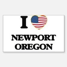 I love Newport Oregon Decal