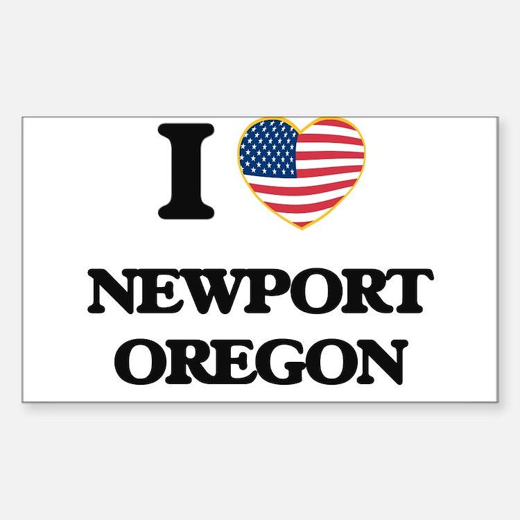 I love Newport Oregon Decal
