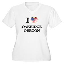 I love Oakridge Oregon Plus Size T-Shirt