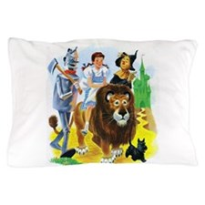 Wiz of Oz - Follow the Yellow Brick Road Pillow Ca