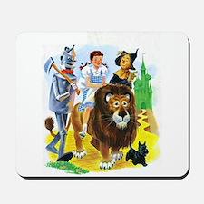 Wizard of Oz - Follow the Yellow Brick R Mousepad