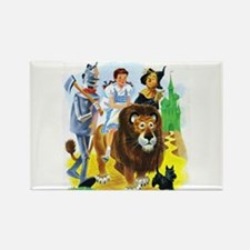 Wizard of Oz - Follow t Rectangle Magnet (10 pack)