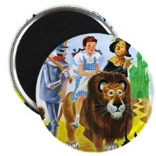 Wiz of Oz - Follow the Yellow Brick Road Magnets