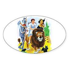 Wiz of Oz - Follow the Yellow Brick Road Decal