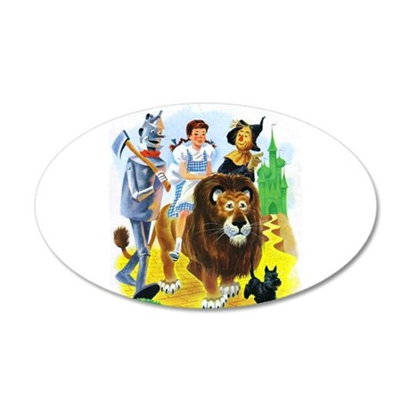 Wizard Of Oz   Follow The Ye Wall Decal