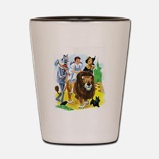 Wizard of Oz - Follow the Yellow Brick Shot Glass