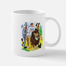 Wiz of Oz - Follow the Yellow Brick Road Mugs