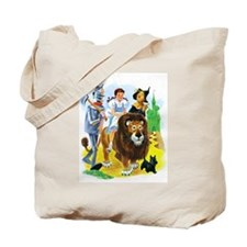 Wiz of Oz - Follow the Yellow Brick Road Tote Bag