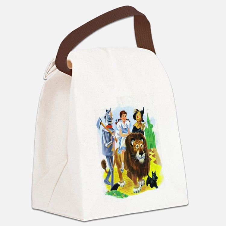Wizard of Oz - Follow the Yellow Canvas Lunch Bag