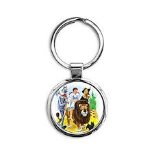 Wiz of Oz - Follow the Yellow Brick Road Keychains