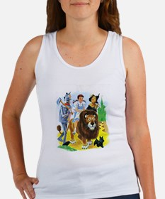 Wiz of Oz - Follow the Yellow Brick Road Tank Top