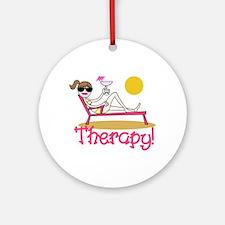 Therapy Ornament (Round)
