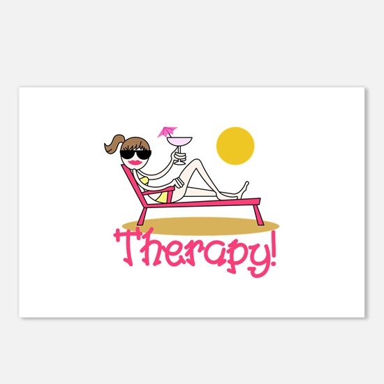 Therapy Postcards (Package of 8)