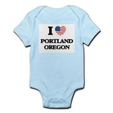 I love Portland Oregon Body Suit