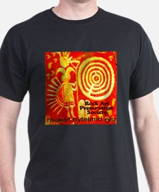 Rock Art Preservation Society Giant C T-Shirt