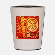 Rock Art Preservation Society Giant Cen Shot Glass