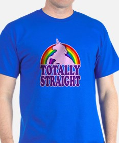 Funny - Totally Straight (vintage loo T-Shirt