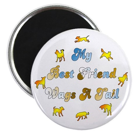 """Best Friend Wags 2.25"""" Magnet (10 pack)"""