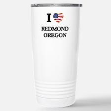 I love Redmond Oregon Travel Mug