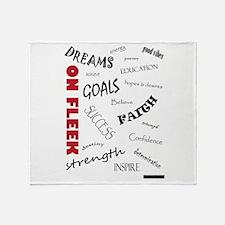 Dreams On Fleek Throw Blanket