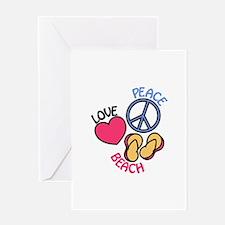 Beach Greeting Cards