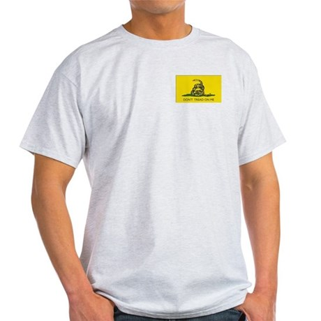 Gadsden Flag Grey T-Shirt