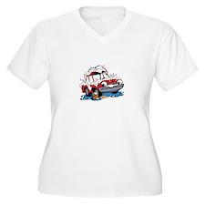 Car Wash Plus Size T-Shirt