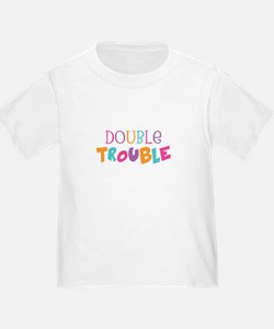 Double Trouble Girls T-Shirt