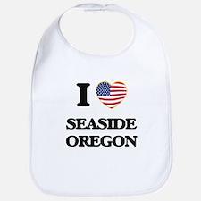 I love Seaside Oregon Bib