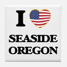 I love Seaside Oregon Tile Coaster
