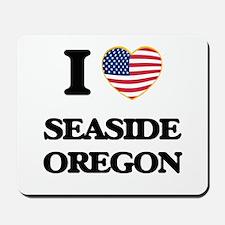 I love Seaside Oregon Mousepad